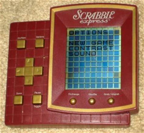 electronic scrabble handheld sold scrabble express handheld travel electronic