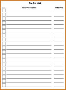 todo list template 8 free to do list templatereference letters words