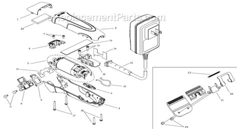 Perfector Hair Styler Replacement Parts by Andis Smc Parts List And Diagram Ereplacementparts