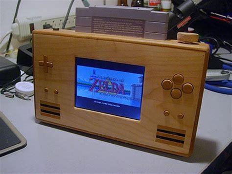 Ds Custom Pc I3 Gtx1050 snes portable casera con caja de madera