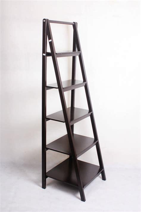 new 5 tier ladder style bookshelf ebay