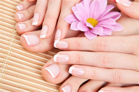 manicure and pedicure at home in ten minutes