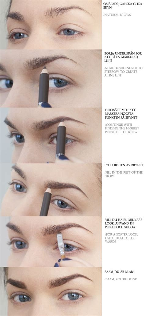 tutorial natural eyebrows eye must ask you my head is always in the clouds take