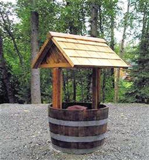 Garden Well by Wishing Well