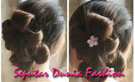 tutorial kepang rambut keren cara ikat rambut panjang cara mengikat rambut panjang