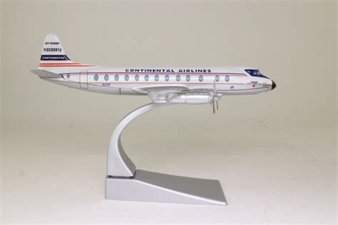 Corgi Aviation Archive 1 144 Vickers Viscount Continental Airlines corgi 47603 vickers viscount airliner continental airlines excellent boxed
