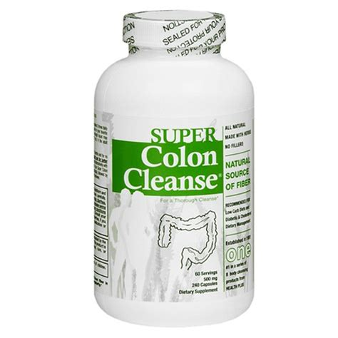 Detox And Colon Cleanse Pills by 083502087656 Upc Health Plus Colon Cleanse 240