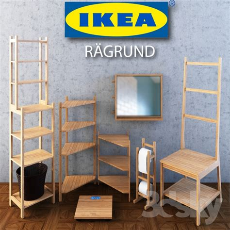 ikea ragrund 3d models bathroom furniture ikea ragrund set
