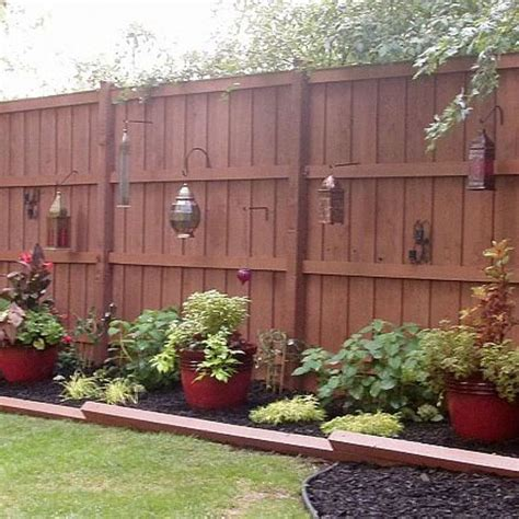 backyard l post 25 best backyard fences ideas on wood fences