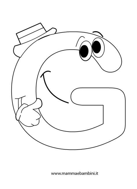 lettere per bambini da stare immagini di lettere g sta disegno di lettera p a colori
