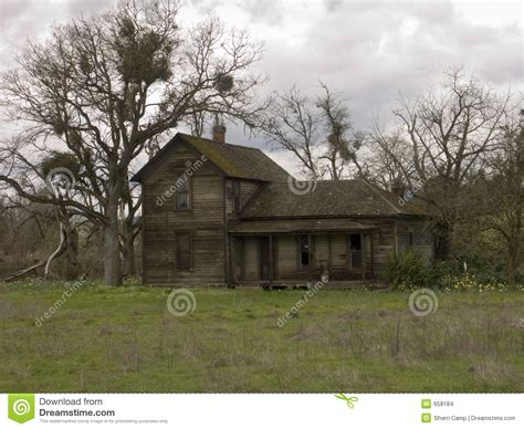 abandoned farm house stock photo image