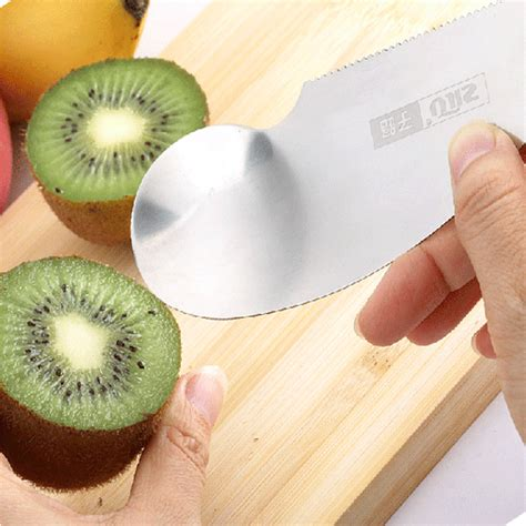 Stainless Steel Fruit Dig popular kiwi spoon knife buy cheap kiwi spoon knife lots from china kiwi spoon knife suppliers
