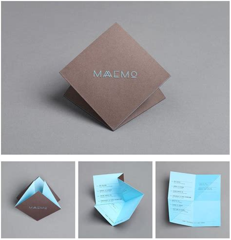 Origami Restaurant Menu - 15 great exles of menu designs menu origami and