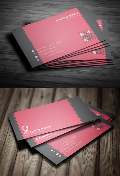 Amazing Business Card Designs Templates by Awesome Free Business Cards Psd Templates And Mockup