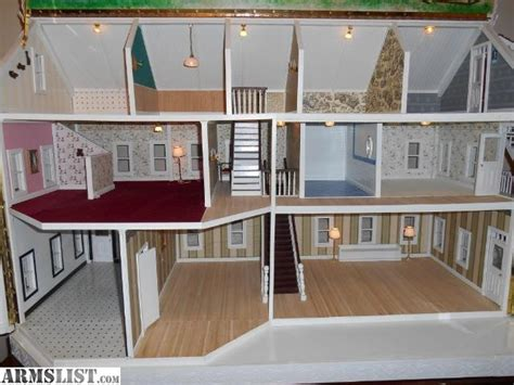 hand made doll house armslist for sale large handmade dollhouse