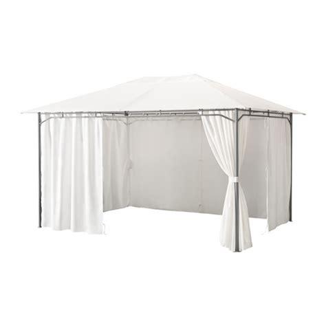 pavillon stoff 3x3 karls 214 cenador con cortinas ikea