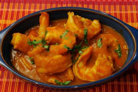 Traditional Style House king prawn bhuna or jumbo shrimp curry