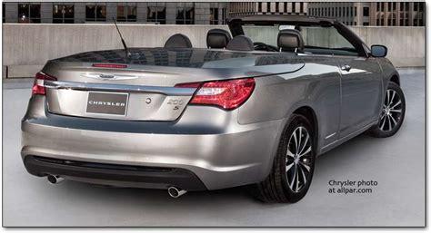 chrysler s 200 the 2011 2014 chrysler 200 convertible affordable luxury