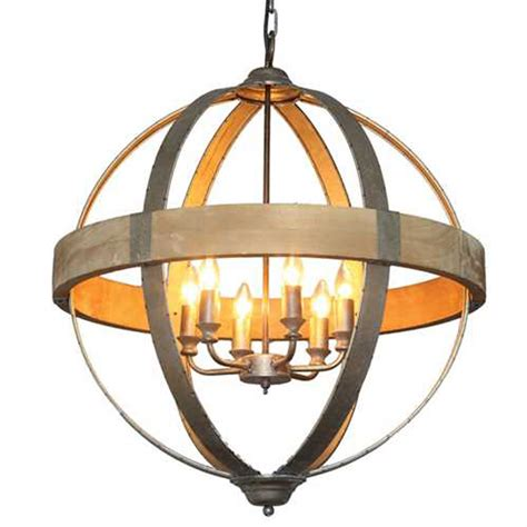 Wooden Kitchen Canisters by Round Metal Amp Wood Pendant Light 28 Da5092