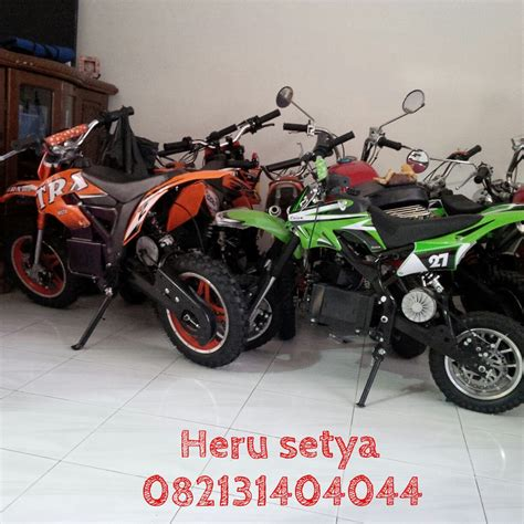Selis Motor Listrik Trail Orange motor mini trail 082131404044 motor mini trail gp atv