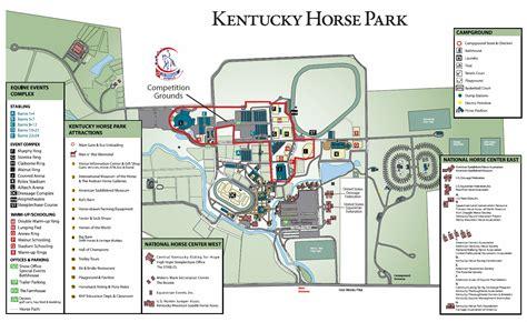map kentucky park map us dressage finals