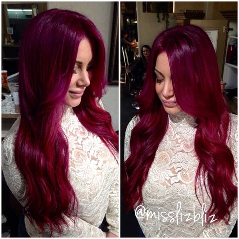 best 25 raspberry hair color ideas on