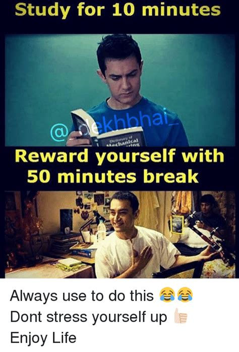 7 Ways To Reward Yourself For 10 by Study For 10 Minutes Ical Reward Yourself With 50 Minutes
