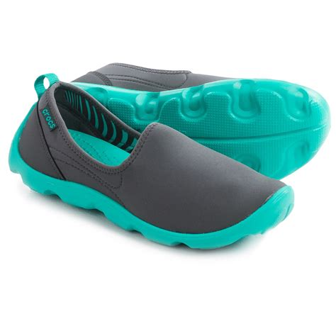 Crocs Duet Skimmer Sport Busy Day Spt292 crocs duet busy day stretch skimmer shoes for save 45