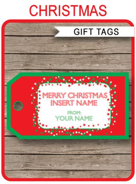 christmas gift tag template printable christmas gift tags