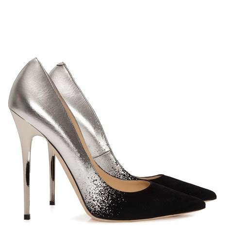 trendsepatupria black and silver shoes images