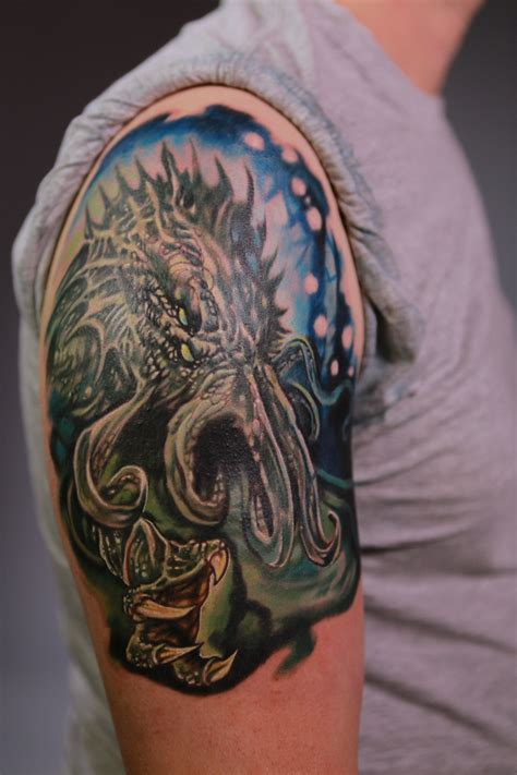 exclusive clip from a amp e s epic ink cthulhu geektyrant