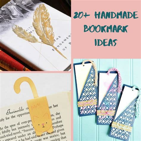 Handmade Bookmark Ideas - 20 handmade bookmark ideas allfreepapercrafts