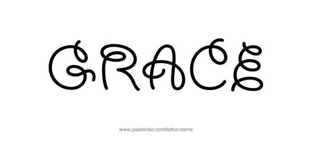 grace name tattoo designs grace name designs