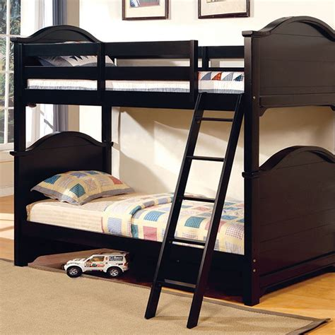 Chesapeake Twin In Black Bunk Bed Hello Bunk Beds
