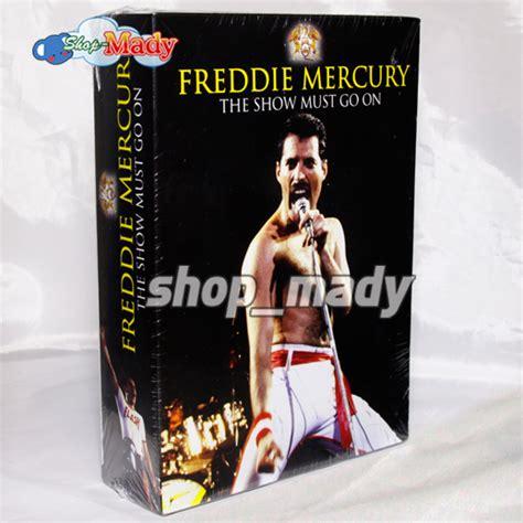 biography freddie mercury dvd box set freddie mercury the show must go on 3 dvds