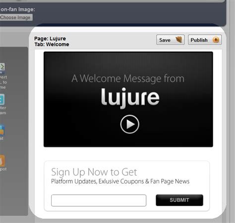 customize fan page lujure brings a approach to fan pages mass
