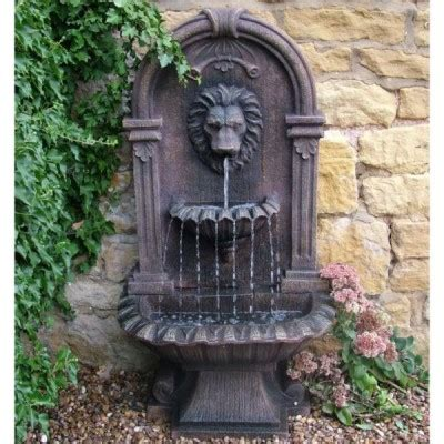 water fountains for backyard outdoor wall fountains