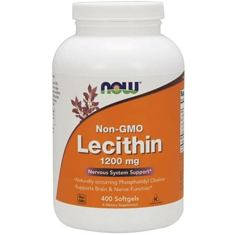 Sale Lecithin Softgel Wootekh Member lecithin 1200 mg 400 softgels health store vitamins supplements