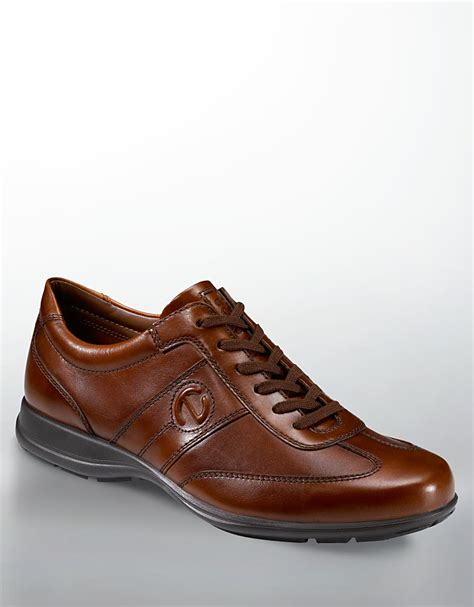 ecco shoes oxford ecco pacer leather oxford shoes in brown for brown