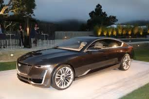 Cadillac Cts Concept Cadillac Shifts Design Direction With Escala Concept