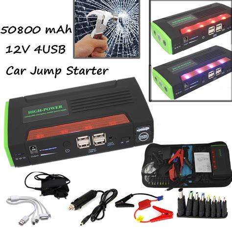jump boat battery with car 68800mah jump starter emergency car auto power bank