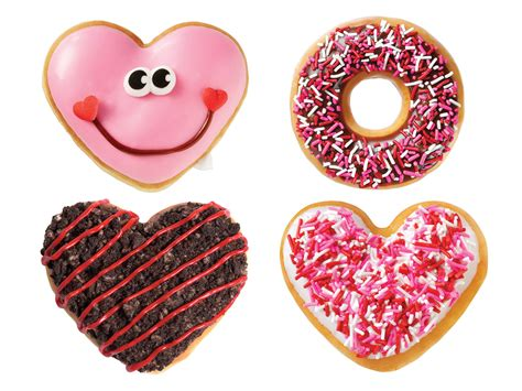 Happy Hearts From Krispy Kreme by 5 Shaped Carbs You Can Fall In With This