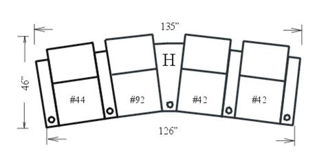 jaymar panther configuration  theater seating