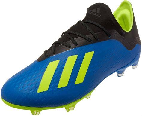 adidas x 18 2 fg football blue adidas soccer cleats soccerpro