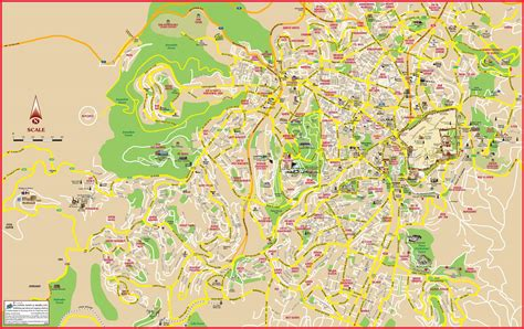 world map jerusalem maps update 587650 israel tourist attractions map