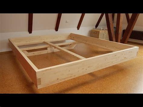 massivholz bett selber bauen einfache schublade selber gebaut funnydog tv