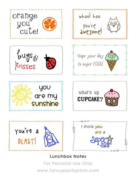 printable lunch notes jokes free printable lunch box notes round up ideas for lunch