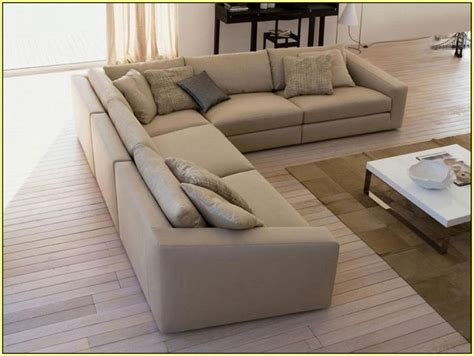 Wibiworks Com Page 75 Contemporary Living Room With Seated Sectional Sofa