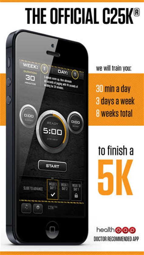 App From To 5k by C25k 174 5k Trainer Free Go From Potato To Running