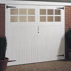 Garage Door Uk Garage Door Wood Glazed Glass Windows Side Hung